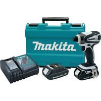 """Makita 18V LXT 1/4"""" Impact Driver Kit XDT04RW (Tool Only) Certified Refurbished"""