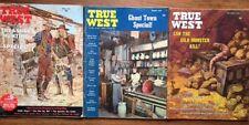 Lot of THREE (3) Vintage True West magazines, 1964