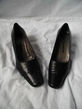 chaussures escarpins mosquitos cuir noir 36,5