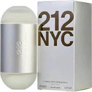 212 NYC 100ML EDT SPRAY FOR WOMEN BY CAROLINA HERRERA