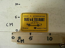 STICKER,DECAL MERCEDES VD TILLAART BOEKEL TAXI MERCEDES