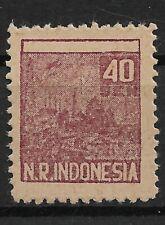 Ned. Indie Repoeblik Indonesia Sumatra Zonnebloem 33