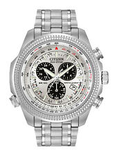 CITIZEN BL5400-52A Eco-Drive Perpetual Calendar Chronograph White Men's Watch