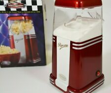 Nostalgia Electrics Popcorn Maker Red Hot Air Popper 8 Cup RHP-310