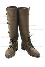 WW1 British officer boots - repro size 11 (uk) 12 (usa)