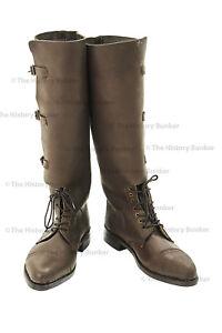 WW1 British officer boots - repro size 9 (uk) 10 (usa)