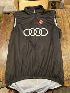 Audi Cycling Team Castelli Wind Vest Men's XL