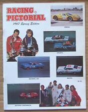 MAGAZINE ~ RACING PICTORIAL ~ 1967 SPRING ~ NASCAR USAC IMCA BOATS