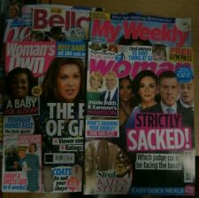 Womans magazine Bundle on sale 19th Oct 2021 Best Bella Woman's Own, My Weekly &