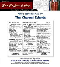 Kellys Verzeichnis der Kanalinseln 1898 CDROM
