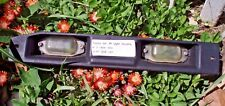 TOYOTA '83-'87 Tercel License Plate Light Housing~Black~2 Clear Lenses & Screws