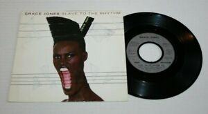 GRACE JONES 45 TOURS SLAVE TO THE RHYTHM  EMI 2008897 DE 1985