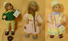 Käthe Kruse - 3 Puppen limitiert auf 80 Stück  - 25 cm - #14700