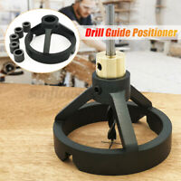 Vertical Drill Guide Positioner Straight Carpentry Hole Puncher Woodworking Tool