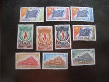 FRANCIA - 10 sellos servicio n (A04) stamp french