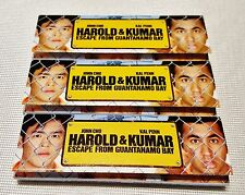 3 Packs Harold & Kumar Escape From Guantanamo Bay Gummed Tobacco Rolling Papers
