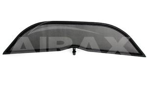 Airax Opel Tigra Twintop Bj.2004-2009 Wind Deflector IN Black