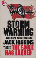 STORM WARNING by JACK HIGGINS - Author of THE EAGLE HAS LANDED [R]