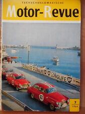 Tschechoslowakische MOTOR REVUE  7 - 1964 * Motocross Barcelona Skoda-Klub CZ125