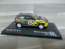 1/43 - seat Ibiza Tdi Gr. N Rally de Salamanca 2003 #24 joan font/alex Masip