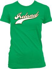 Ireland Country Irish Football Team Soccer Heritage Born From Juniors T-Shirt