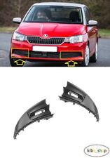 SKODA FABIA 2015 - 2018 NEW FRONT BUMPER LOWER FOG GRILL COVER LEFT + RIGHT