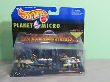 Mattel Hot Wheels Planet Micro Armageddon Asteroid Drill Site Mission #2 1997