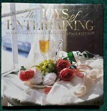 THE JOYS OF ENTERTAINING 1987 1st Edit Hardcover SIgned Bethany Ewald Bultman