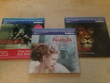 THE CHRONICLES OF NARNIA Prince Caspain Part One Two Three Audiobook Audio CD