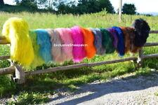 Dyed Icelandic Genuine Sheepskin rug Sheep skin 16 color soft long wool
