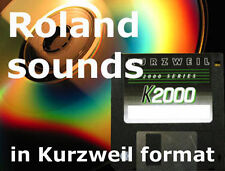 Kurzweil sounds for pc3k8 pc3k7 pc3k6 pc3k from Roland Juno,D50,JD800,JV1080
