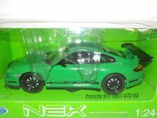 Porsche 911 GT3 RS (997) - Green,  Welly 1/24