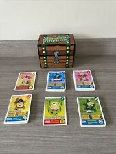 More details for spongebob squarepants - trading cards collection & treasure chest - 2008