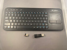 Logitech K400r Wireless Keyboard with Built-In Multi-Touch Touchpad w/ Receiver