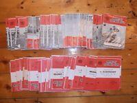 1961-68 BARNSLEY HOME FOOTBALL PROGRAMMES - Your Choice - FREE Postage