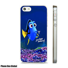 DORY FINDING NEMO QUOTE CUTE CLEAR CASE FOR IPHONE 4S 5 5S 5C 6 6S 7 8 SE X PLUS