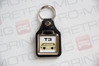 VW T3 Keyring - Leatherette Retro Classic Car Auto Keytag - Vanagon Wedge T25