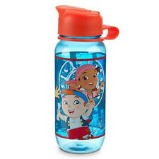 JAKE AND THE NEVER LAND PIRATES  KIDS DRINK CLEAR WATER BOTTLE Neverland NEW
