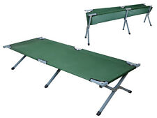 Green Portable Folding Cot Camping Military Medical Hiking Fish Bed Sleeping Cot
