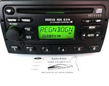 Original Autoradio  6000 CD  NE E-O-N  Ford RDS  mit Code Karte