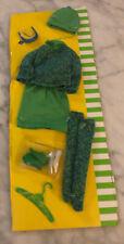 1996 Mattel Barbie Francie Repro GAD ABOUT FASHION Outfit Shoes Glasses Hanger