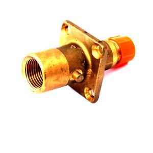 UK Bayonet LPG gas gpl  Filling Point Filler WITH NON RETURN VALVE JIC VALVE