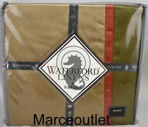 Waterford Linens Bogden QUEEN Bedskirt Cinnabar