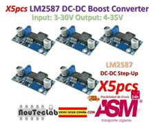 5pcs LM2587 DC-DC Boost Converter 3-30V Step up 4-35V Power Supply Module MAX 5A