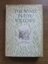THE WIND IN THE WILLOWS by Kenneth Grahame - early printing HCDJ 1956 Shepard