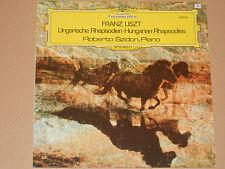 FRANZ LIST -Ungarische Rhapsodien- Robert Szidon (Piano) LP