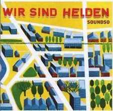 Wir sind Helden - Soundso - CD Album NEU - Die Konkurrenz - Labyrinth