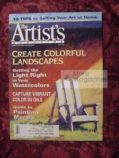 The ARTIST's May 1998 Colorful Landscapes Bob Rohm Judy M Johnson Jennifer King
