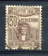 TUNISIE 1923/29, timbre TAXE n° 42, DEESSE, oblitéré