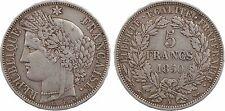 5 francs Cérès, 1850 A = Paris, argent - 114